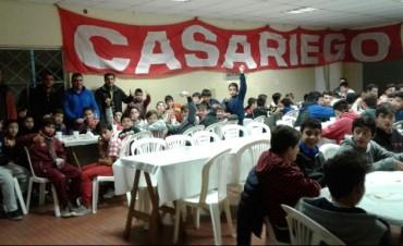 Las inferiores de Club Casariego tuvieron su cena