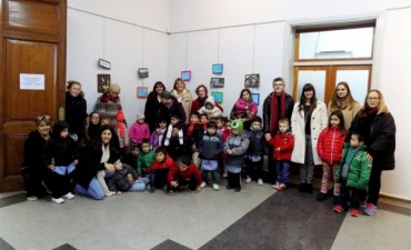 Se presentó una muestra de alumnos de nivel inicial en el CRUB
