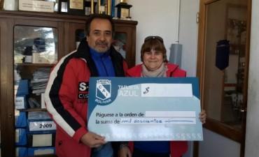 La 'Tarjeta Azul' del Club Independiente entregó los premios del mes de mayo