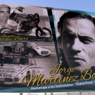 Este domingo se pondrá la iluminación al cartel del 'Gaucho' y Jorgito Martínez Boero
