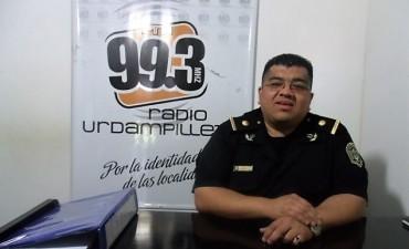 """Subcomisario Ibarra Guevara: """"Nuestra intención no es perjudicar a la gente que trabaja, aunque desde la Provincia nos exigen que habiliten"""""""