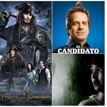 El Candidato, Alien Covenant, y Piratas del Caribe 5 en el Avenida