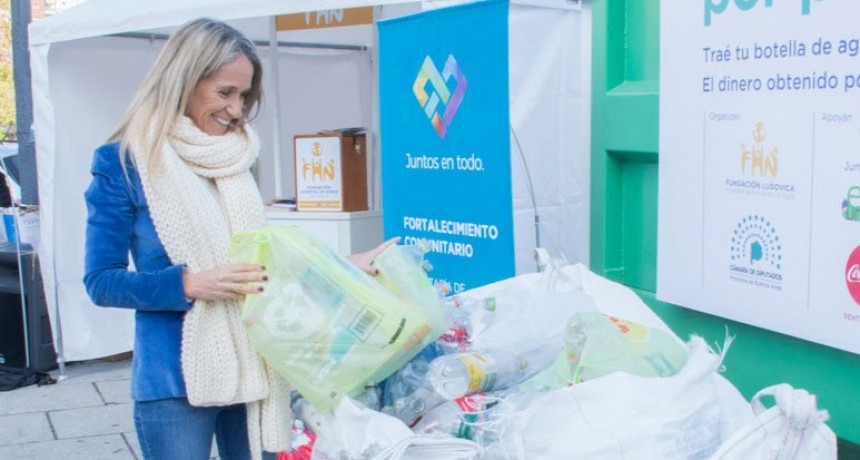 Diputada Barros Schelotto: 'Vivimos una jornada de concientización y solidaridad'