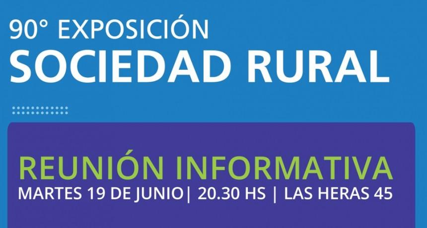 La Cámara Comercial invita a los socios a una reunión informativa sobre la 90º Exposición Rural