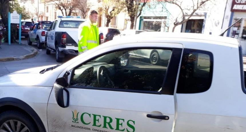 Incidente en Alvear y Mitre: Un peatón debió ser hospitalizado