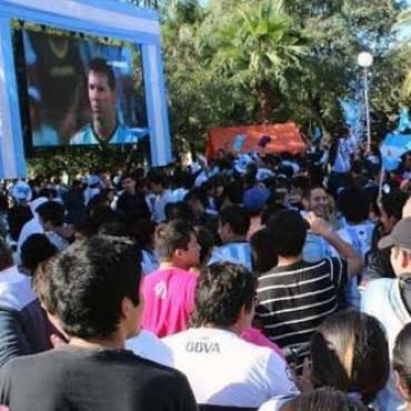Bolívar se prepara para vivir la final del mundo