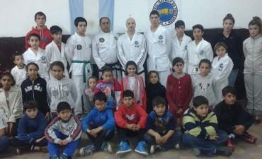 El taekwondo llegó a Villa Diamante