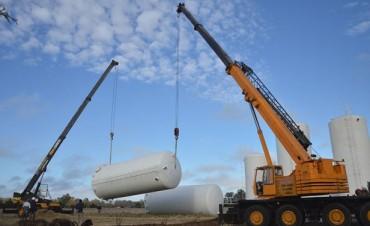 Avanzan las obras en la Planta Potabilizadora de Agua