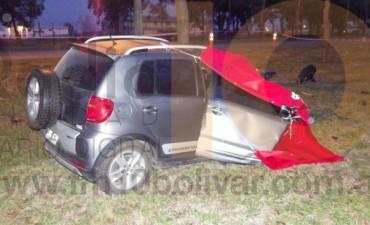 Mañana trágica en el Día de la Independencia en Bolívar: Un joven perdió la vida en un accidente