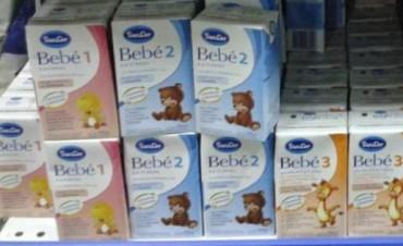 Ordenan el retiro preventivo de un lote del producto SanCor Bebé 2 en polvo