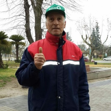 Rodolfo Cañas se jubiló luego de 35 años de servicio