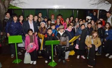 Los chicos de la OE partieron rumbo a Tucumán a los festejos del Bicentenario de la Independencia