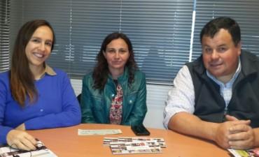 La Municipalidad entregó un subsidio para la 'Fiesta del Chorizo Seco' en Urdampilleta