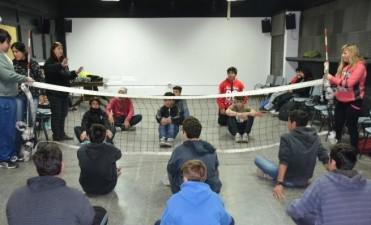 La Dirección de Discapacidad realizó una charla para alumnos de la ENET