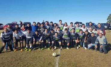 Fútbol Rural Recreativo: 'Unión es Fuerza' y 'Pirovano' son los punteros