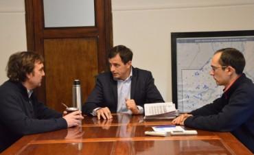 El Intendente se reunió con el Jefe Regional de ANSES