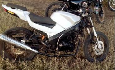 Robaron una moto y su dueño pudo recuperarla a las 24 horas