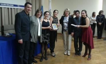 La juventud reconocida por Rotary, El Club del Tango