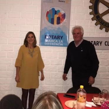 Rotary, Interact, y Rotaract realizaron su cambio de autoridades