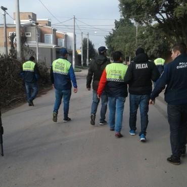 La Fiscalía de Bolívar allanó en Tucumán, este 9 de julio
