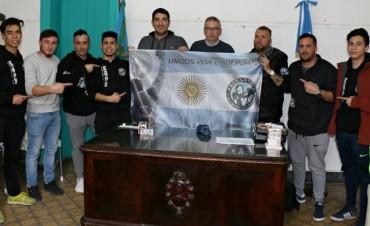 El presidente de la Asociación Argentina de Kick Boxing visitó la academia Street, y fueron recibidos por el Secretario de Desarrollo Humano