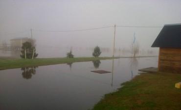 GUAMINÍ: Desbordó laguna Alsina