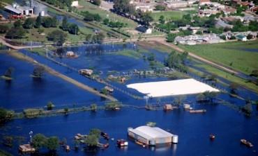 Inundaciones: trabajos en La Pampa, Pellegrini, y Trenque Lauquen