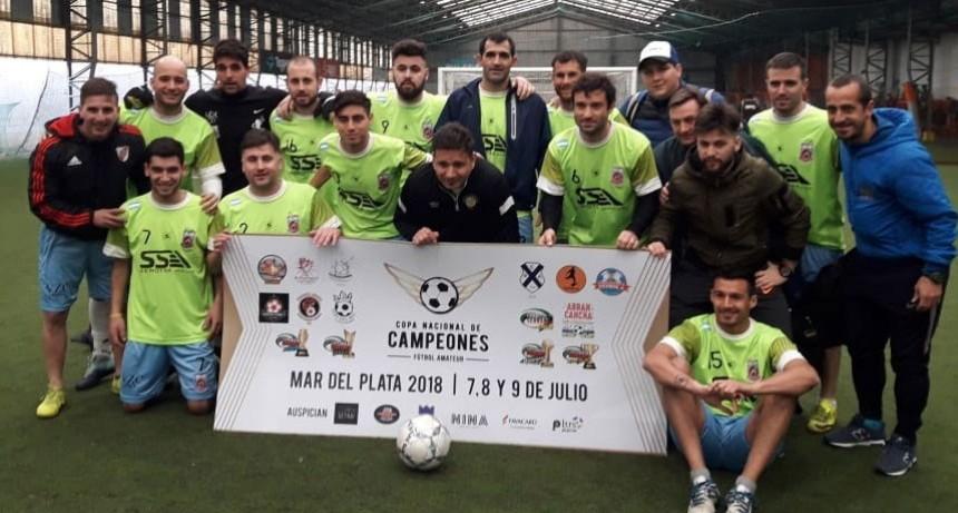 Futbol: En la Copa de Campeones marplatense Multiespacio Caciques logró la de Plata en categoría libres