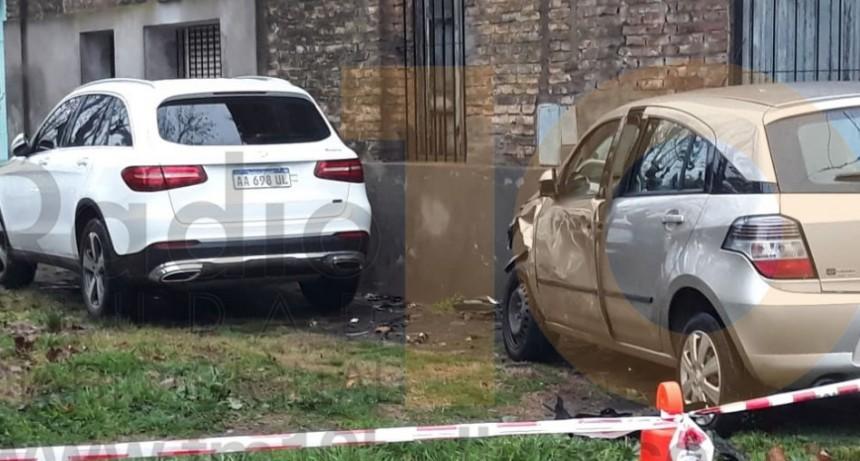 Espectacular impacto en Bernardo de Irigoyen y Belgrano