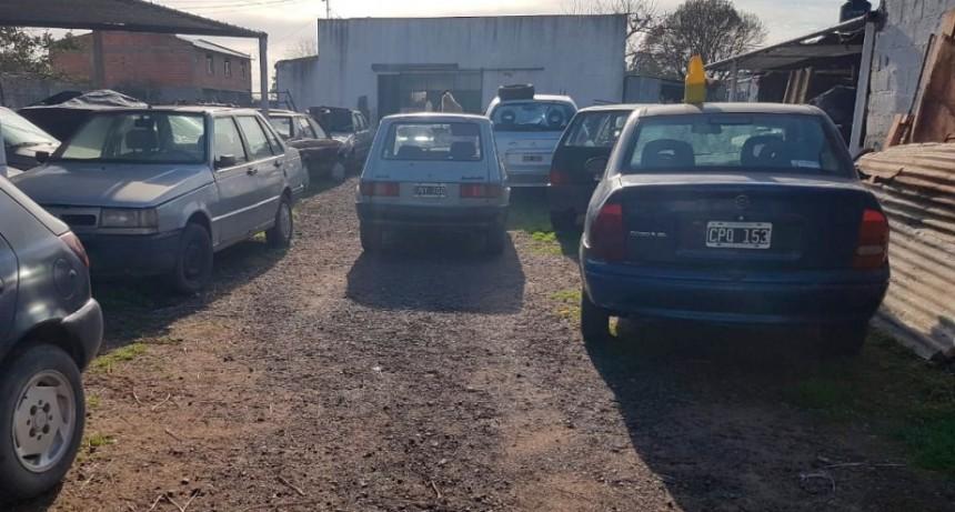 Informe oficial de la Policía: A raíz de la inspección en un taller con stock de repuestos y autopartes, se detectó 'Infracción de la Ley 25761'