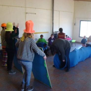 Los chicos de los CAI de Zorzales y Pompeya festejaron el Día del Niño