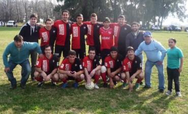 Fútbol Rural Recreativo: Vallimanca goleó a La 8