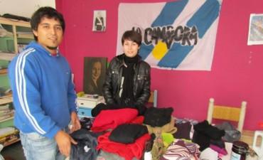 La Cámpora Bolívar acopia donaciones para los inundados