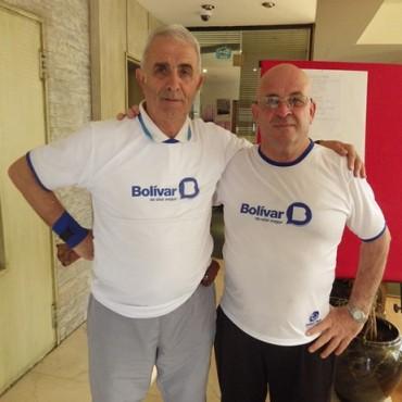 Juegos BA: 'Taca' Albano y 'Corcho' Real, rumbo a Mar del Plata