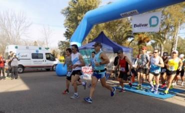 Este fin de semana se corrió la Ultramaratón en Bolívar