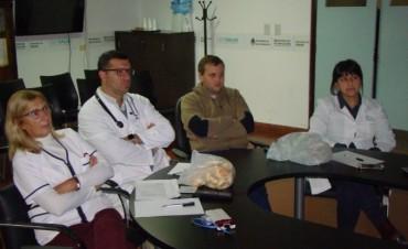 Profesionales del Hospital participan de un Congreso Internacional de Medicina Interna a través de Cibersalud