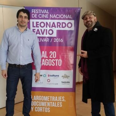 Nicolás, el hijo de Leonardo Favio, estuvo en el Festival de Cine que recuerda a su padre