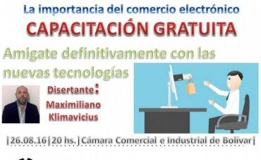 Capacitación en la Cámara Comercial sobre Comercio Electrónico y presentación del sitio HagoMisCompras.com