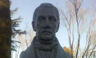 Restauraron el monumento de 'San Martín Abuelo'