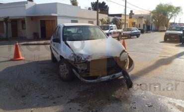 Fuerte impacto la intersección de calle Larrea y Rebución