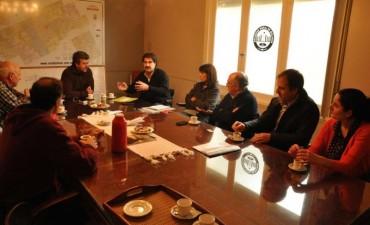 En  Bolívar y Daireaux, Sarquís analizó situación hídrica e hidráulica con productores de la región