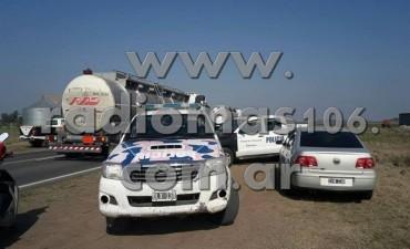 Fuga, persecución, tiros y dos personas aprehendidas en operativo cerrojo en Daireaux