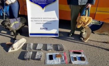 ZONALES: Desbaratan banda narco, secuestran más de 6 kilos de cocaína