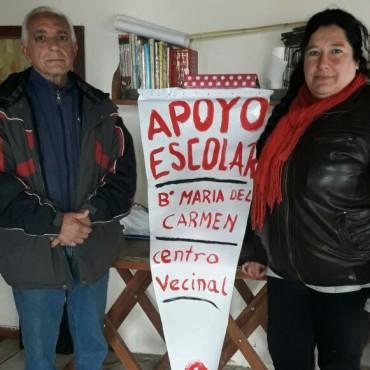 CENTRO VECINAL DE BARRIO MARIA DEL CARMEN: Se dictan clases de apoyo en el espacio del Café Literario