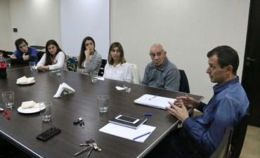 El Intendente Bucca se reunió con la comisión de SAPAB y se plantearon un convenio de ampliación del refugio