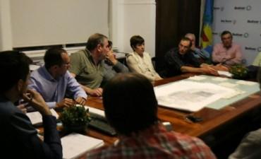 LUEGO DEL PETITORIO: El Intendente Bucca recibió a la Comisión Vial