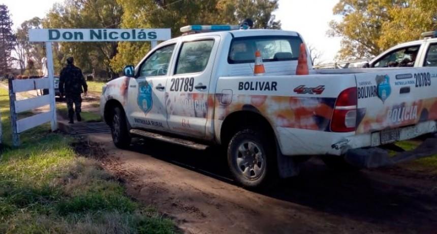 Informe CPR Bolívar: Aparecieron los animales de la familia Albanese