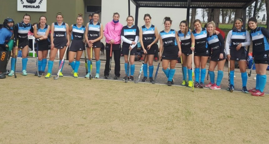 El hockey del Club Ciudad volvió de Pehuajo con tres importantes victorias