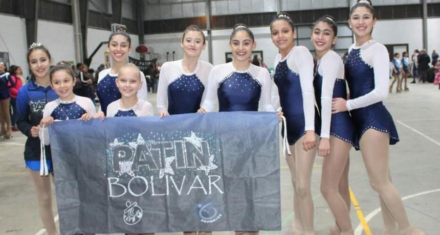 Excelentes resultados para Patín Bolívar en Olavarría y participación en el nacional en San Luis
