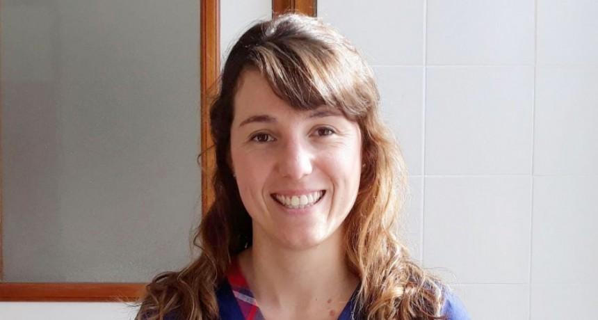 La Lic. en Nutrición María Julia Susperreguy comenzó a atender en Bolívar